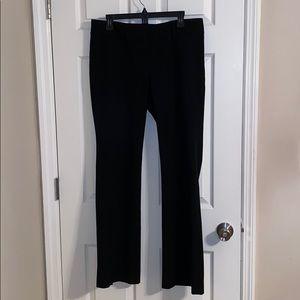 Ann Taylor Loft Marisa Size 10 Black Pant
